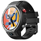 TONGTONG 1.39 inch Dual System 4G Smart Watch Android GPS WiFi Heart Rate 5MP Front Camera Sports Smartwatch