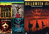 Three More Days Till Halloween, Halloween, Halloween! Horror Movie Quintet with Dawn of the Dead (Unrated), Land of the Dead (Unrated), People Under the Stairs, Halloween II and Halloween III Bundle