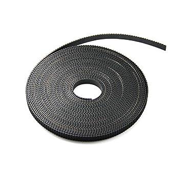 For 3D Printer Prusa Mendel 1M Reprap GT2 Timing Belt 6Mm Wide 2Mm Pitch 2Gt wy