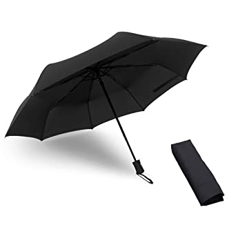 d32efe278 WITERY Auto Open Close Umbrella, Large Umbrella Blizzard-Proof Windproof  Durable and Strong Travel