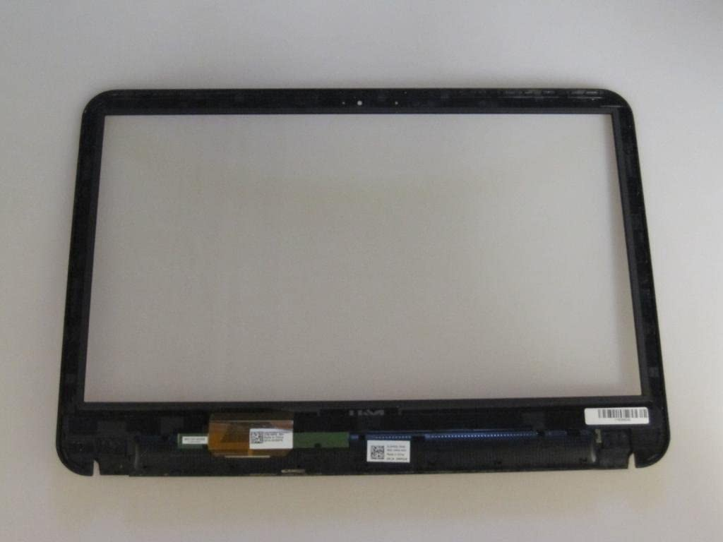 NO LCD inoneworld 15.6 Touch Screen Replacement Digitizer Panel Front Glass with Bezel for Dell Inspiron 15 5521