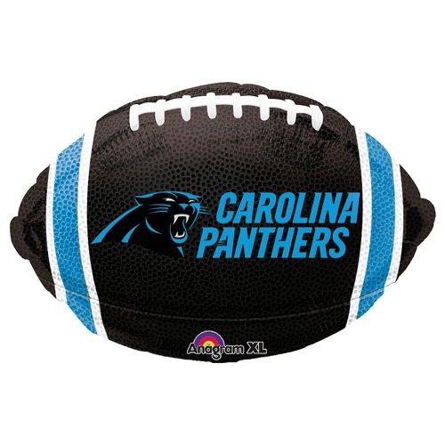 Anagram 29593 NFL Carolina Panthers Football Team Colors Foil Balloon, 17