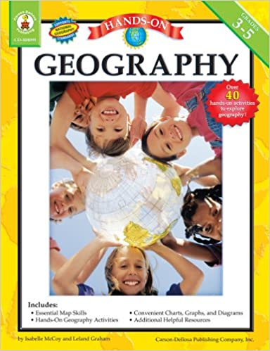Amazon com: Hands-On Geography, Grades 3 - 5 (Skills for