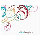Fantasia Personalized Note Card Set - Set of 24 cards with envelopes