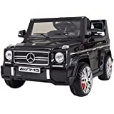 Ricco LS528 Black Licensed Mercedes-Benz G65 Kids Ride on Powered Wheels Car with Remote Control