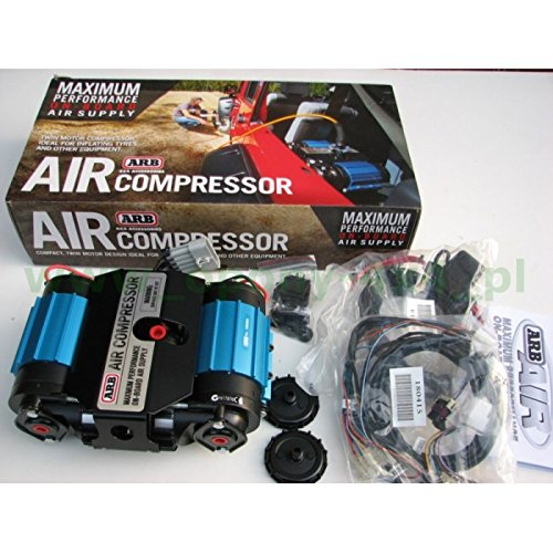 ARB CKMTA12 '12V' On-Board Twin High Performance Air Compressor by ARB (Image #2)
