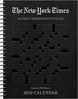 the new york times sunday crossword puzzles 2019 weekly planner