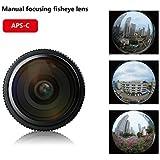 Meike MK 6.5mm f/2.0 Circular Fisheye Lens for Fujifilm X-Mount Camera X-Pro1 X-Pro2 X-E1 X-M1 X-A1 X-E2 X-T1 X-A2 X-T10 X-E2s X-T2 X-A3 with Adison Tek Clean Cloth