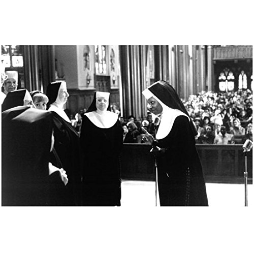 Whoopi Goldberg in Sister Act on Stage Ready to Sing 8 x 10 Inch Photo