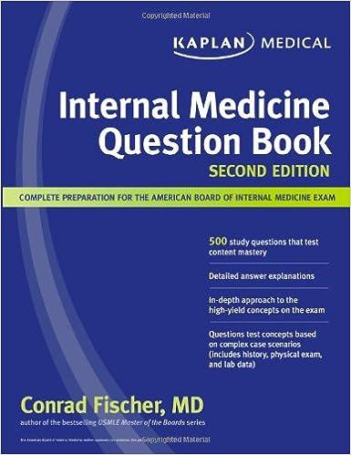 Kaplan Internal Medicine Question Book