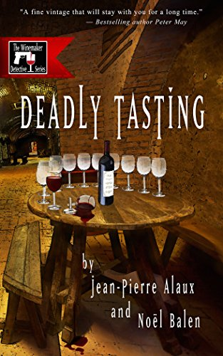 Deadly Tasting Winemaker Detective Book ebook product image