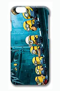 iPhone 5 5s Case, 6 Case - Thin Fit Protective 3D Hard Back Case Bumper for iPhone 5 5s Despicable Me 2 Minions Slim Fit Hard Back Cover Case for iPhone 5 5s es