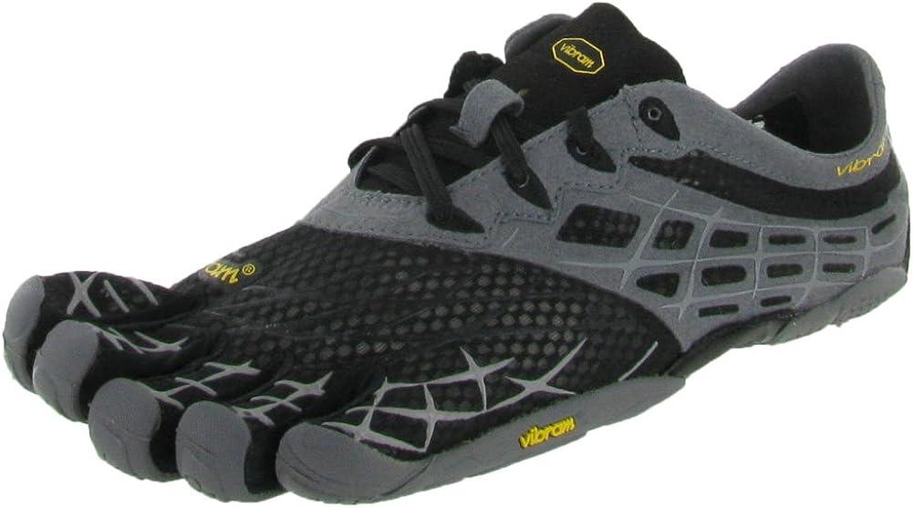 Vibram Five Fingers See Ya LS, Zapatillas de Running para Hombre, Black/Grey/Silver, 41 EU: Amazon.es: Zapatos y complementos