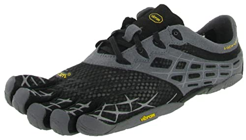 sports shoes fe9ce 3faeb Vibram Fivefingers Seeya Ls Mens, Black Grey Silver, 46 EUR, D