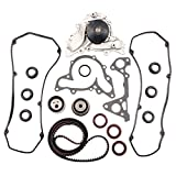ECCPP Timing Belt Water Pump Valve Cover Gaskets Kit Fit 1995-2005 Chrysler Sebring Cirrus Dodge Stratus Avenger Mitsubishi Eclipse Montero Sport Galant 2.5L 3.0L V6 SOHC 6G72 6G73