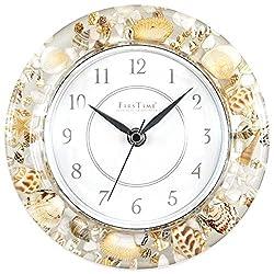 Beautiful Sands of Time Wall Clock, Coastal Style -Bettli