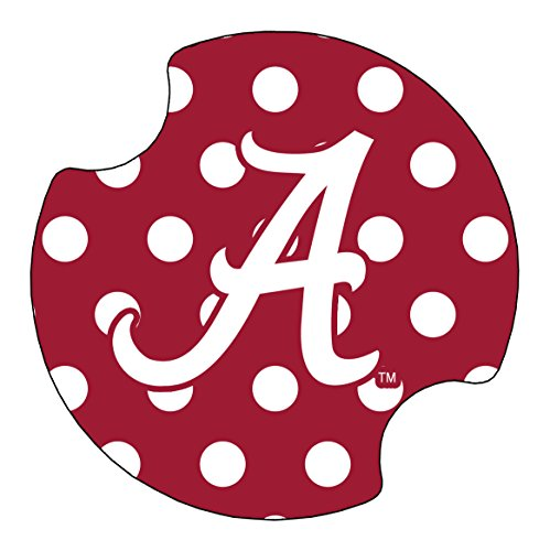 Thirstystone University of Alabama Dots Car Cup Holder Coaster, 2-Pack