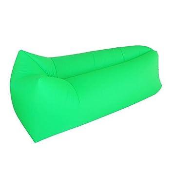 Trumpo - tumbona hinchable, saco de dormir, para interior ...