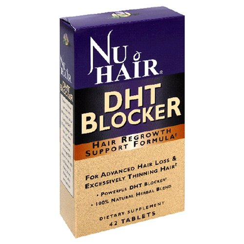 Nu cheveux DHT Blocker repousse des cheveux supporte pas les comprimés Formula, 42-Count Bouteille