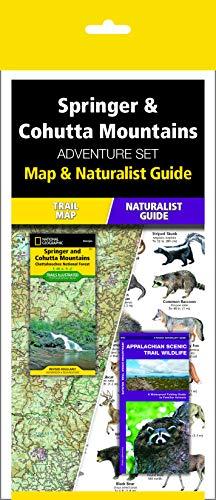 Springer & Cohutta Mountains Adventure Set: Map & Naturalist Guide (Cohutta Ga)