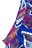 Roswear-Womens-Colorful-Long-Ruched-Ankara-African-Print-Maxi-Skirt
