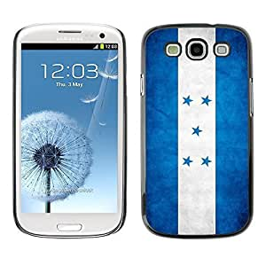 Shell-Star ( National Flag Series-Honduras ) Snap On Hard Protective Case For Samsung Galaxy S3 III / i9300 i717