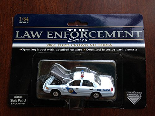SpecCast Law Enforcement Series - Alaska State Patrol 97021 - 2001 Ford Crown Victoria 1:64 (Victoria Ford Crown Specs)