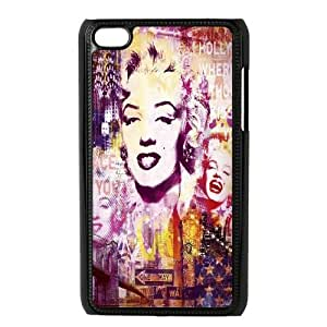 [QiongMai Phone Case] FOR IPod Touch 4th -Super Star Marilyn Monroe-Case 19