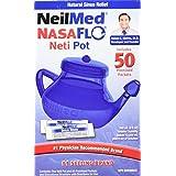 NeilMed Nasaflo Neti Pot, 50 Count