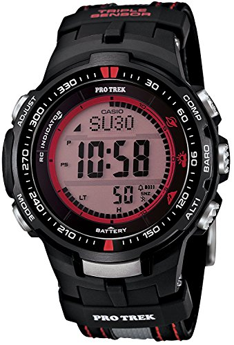 CASIO watches PROTREK Triple Sensor Ver.3 equipped with the world six stations corresponding Solar radio PRW-3000G-1JR Men