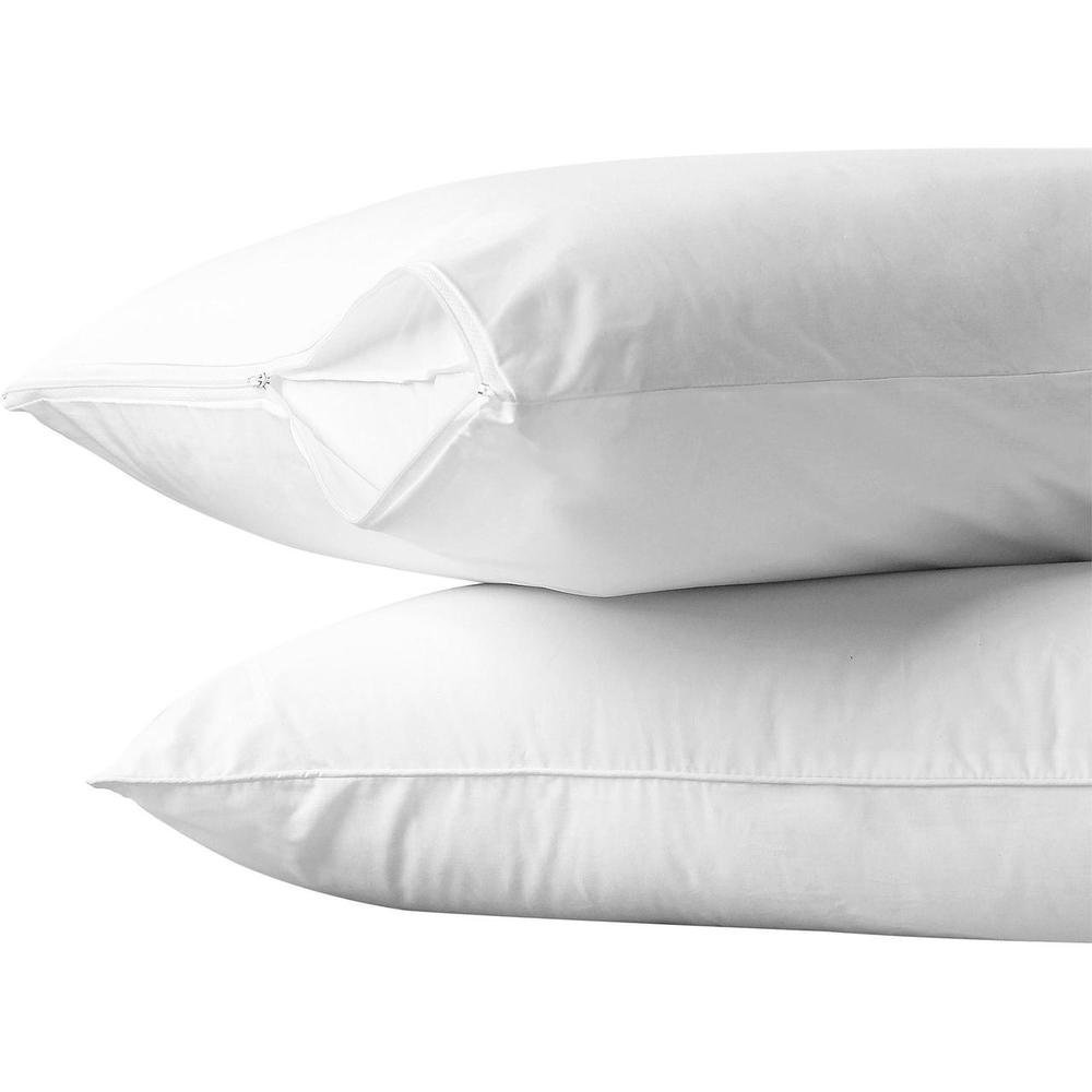 100% Cotton 2 PC Pillow Protector Set (King) Edenborough