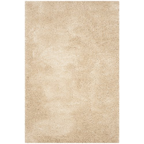 Cheap Safavieh Reno Shag Collection SGR419K Light Beige Area Rug (4′ x 6′)