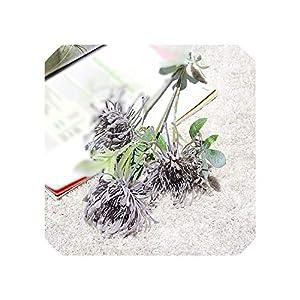 Liliy-luckly Artificial Fleur Flowers for Wedding Decoration Plastic Fake Flower Plant,C 44