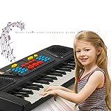 Ladiy Kids Portable 37 Keys Multifunctional Electric Piano Keyboard Educational T Electrical Safety