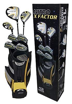 Nitro Golf Xfactor Men's Golf Club Set, Right Hand