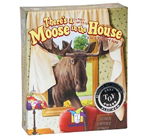 Moose House - There's a Moose in the House Card Game - Includes Bonus Pop Toob!