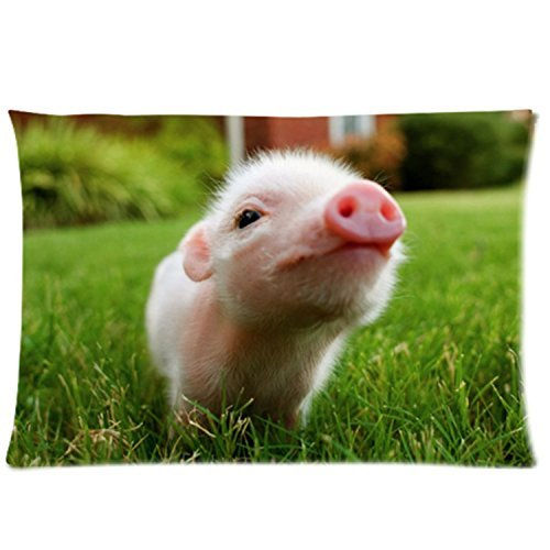 SIXSTARS Little Lovely Cute Baby Pig Cover for Roomy Zippere