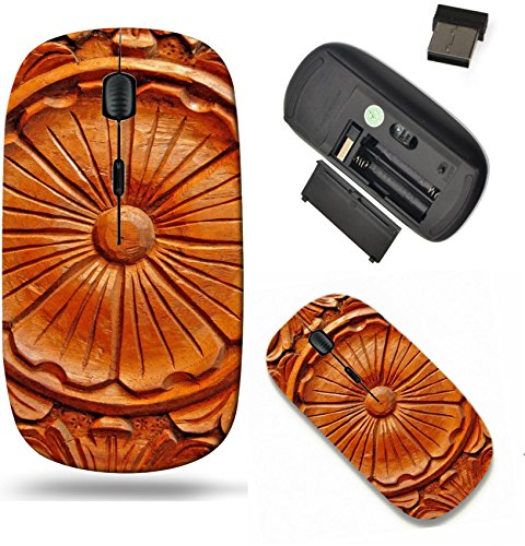 Liili Wireless Mouse Travel 2.4G Wireless Mice with USB Receiver, Click with 1000 DPI for notebook, pc, laptop, computer, mac book philippine hardwood with intricate wood carving Photo 6402007