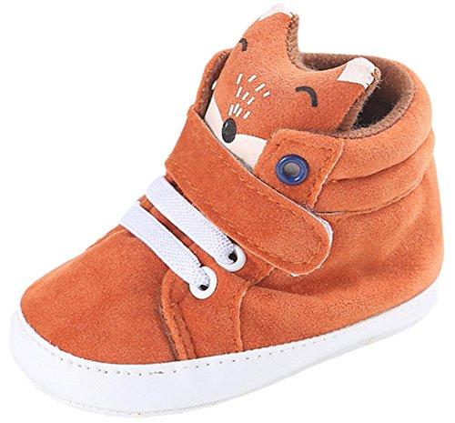 La Vogue Zapatos de Bebé Botas para Invierno Primeros Pasos Zorro