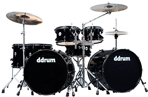 UPC 886830541148, ddrum Journeyman JMDD722 MB 7-Piece Drum Set with Hardware Midnight Black