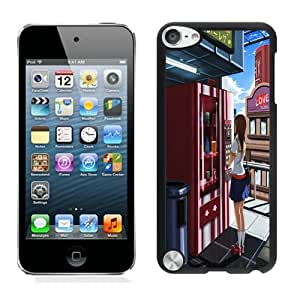 Fashion Custom Designed Vending Machine iPod touch 5 5th Generation Black Phone Case CR-676