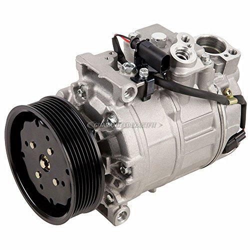 AC Compressor & A/C Clutch For Volkswagen VW Touareg Passat Phaeton Bentley Continental Porsche Cayenne - BuyAutoParts 60-01834NA NEW