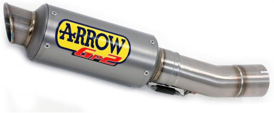 omol Inoxydable Dark gP2/+ raccord Inoxydable Kawa Z900/17/rIC 71531/GPI Arrow marm Orig.+ rIC