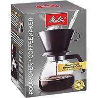 Melitta 咖啡机,单杯 Pour-Over Brewer 带旅行杯(2 件装)