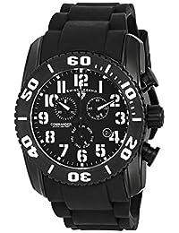 Swiss Legend Men's 11876-TIB-01 Commander Titanium Analog Display Swiss Quartz Black Watch