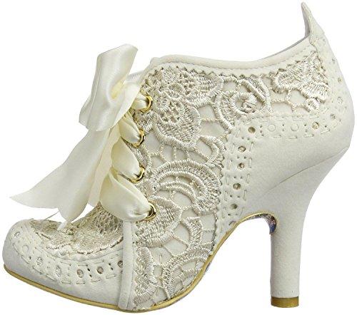Irregular Choice Abigails Third Party Cream Multi Mujeres Zapatos Botas