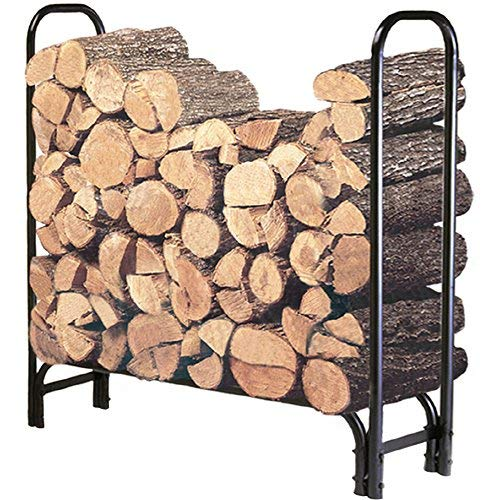 Landmann USA FBA Landmann 82413 4-Foot Firewood Log Rack (Cover not included), 4-Feet
