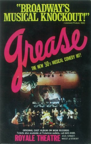 Grease 11x17 Broadway Show Poster (Broadway Show Posters)