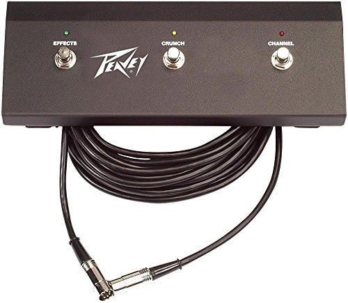 (Peavey 6505 Plus 3-Button Footswitch Pedal)