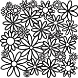 Crafters Workshop 12 x 12-inch Crafter's Workshop Template Daisy Cluster by The Crafter's Workshop